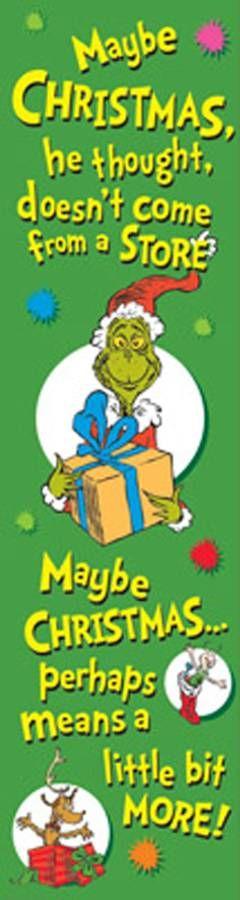 $4.49 Dr. Seuss - The Grinch Banner
