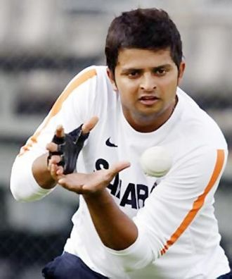 Suresh Raina Fielding Practice