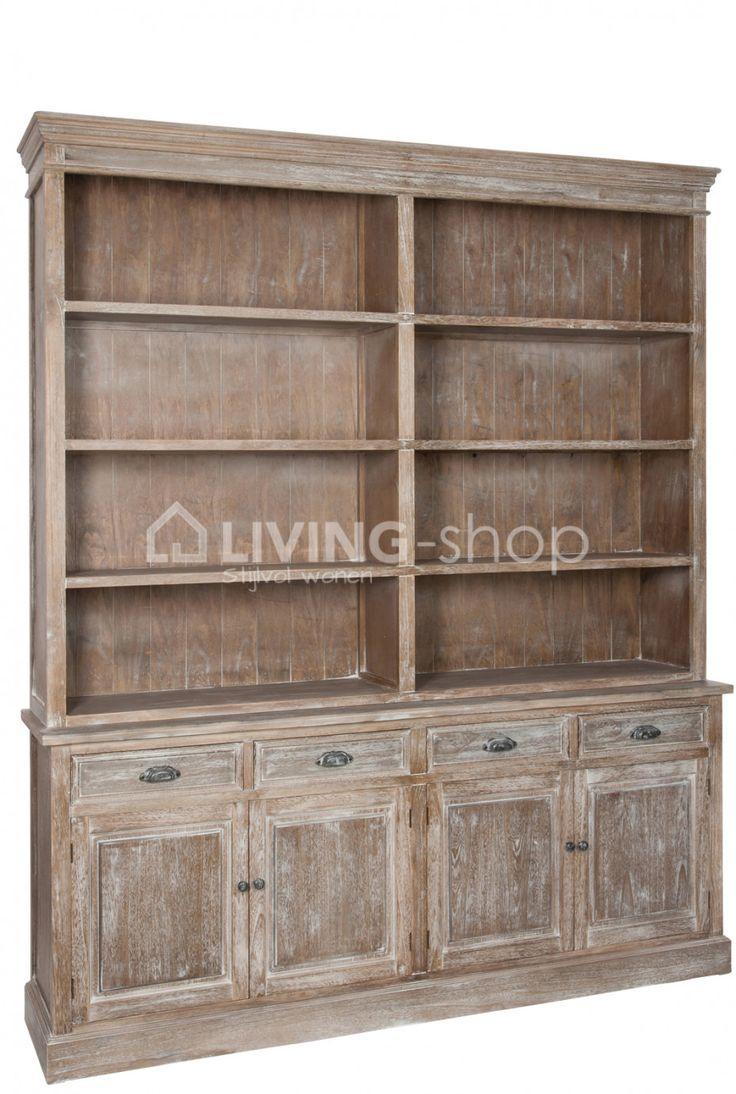 Bibliotheekkast J-LINE webshop LIVING-shop