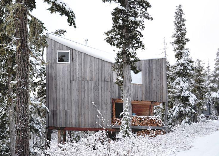 Alpine Cabin For Snowboarding On Vancouver Island By Scott U0026 Scott