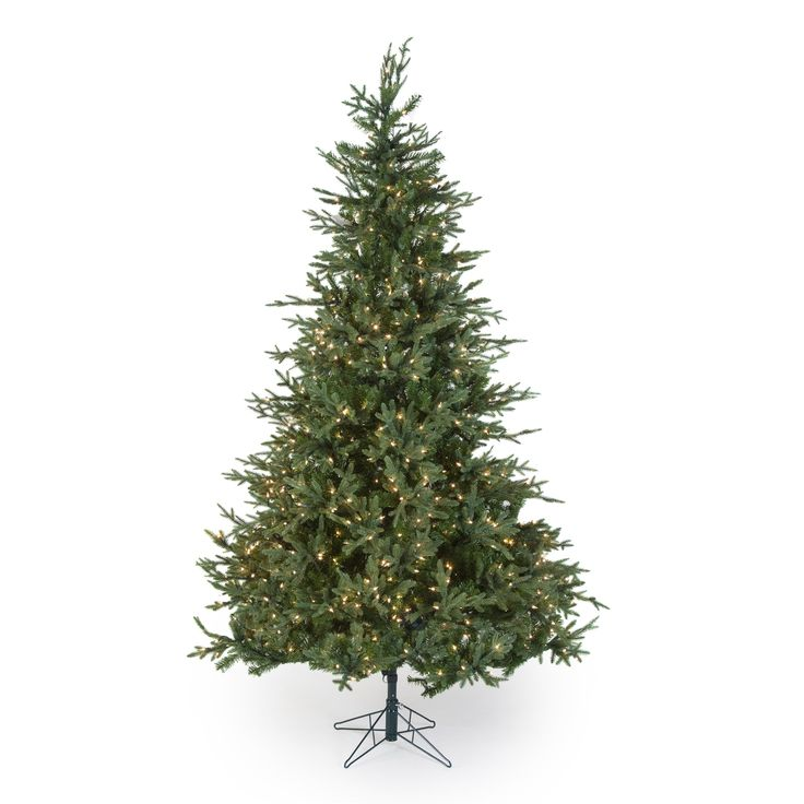 Natural Cut Upswept Chesterfield Spruce Pre-lit Christmas Tree by Sterling Tree Company - The Christmas tree is the main focal point in your home during the holidays. Make sure it's a beautiful sight to see with the Natural Cut Upswep...