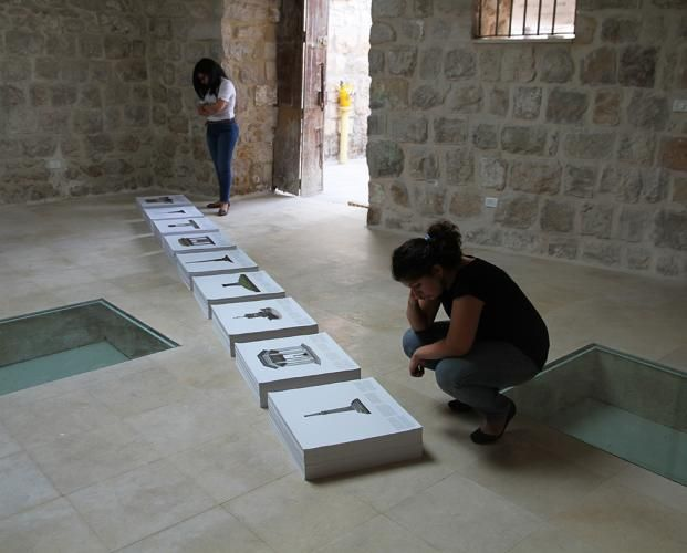 Tom Nicholson - 2013 Australia Council grant recipient for new work - 'Comparative Monument (Ma'man Allah)' responds to histories between Australia and Israel/Palestine.