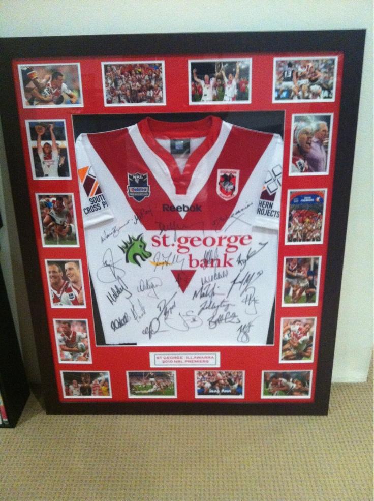 My 2010 Signed Premiership Jersey... My Pride & Joy