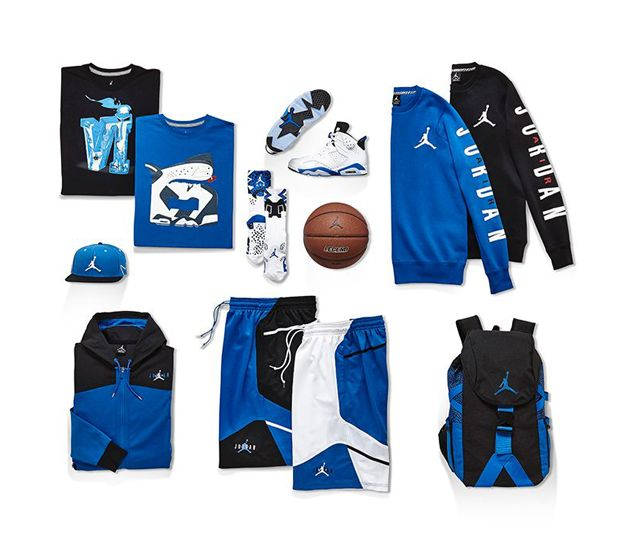 Jordan Brand – Air Jordan VI Sport Blue collection