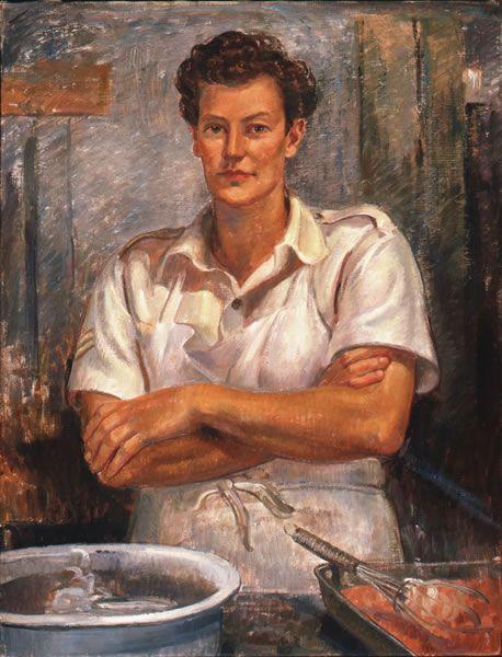 Nora Heysen : WAAAF cook