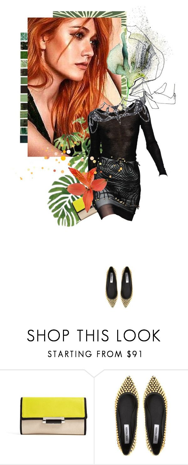 """Senza titolo #718"" by labdesign ❤ liked on Polyvore featuring Martha Stewart, Diane Von Furstenberg, Christian Siriano, Steve Madden, River Island, Clary, shadowhunters and KatherineMcNamara"