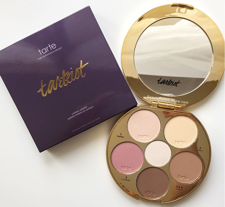 NEW! Tarte Contour Palette. It looks so awesome :)