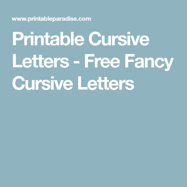 Best  Large Printable Letters Ideas On   Big Paper