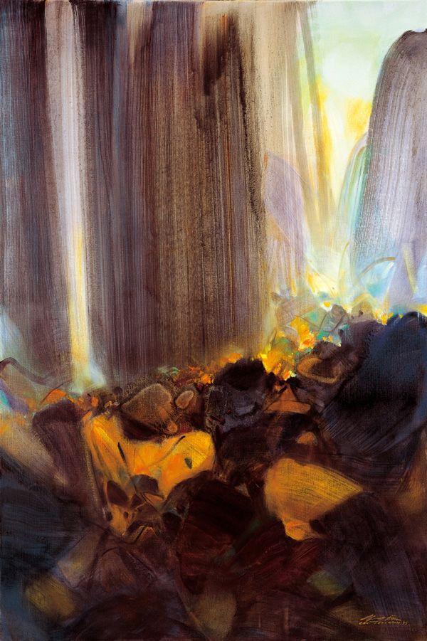 Chu Teh-chun - Accent d' orgue http://www.myarttracker.com/node/377622/artworks/by-artist?page=1