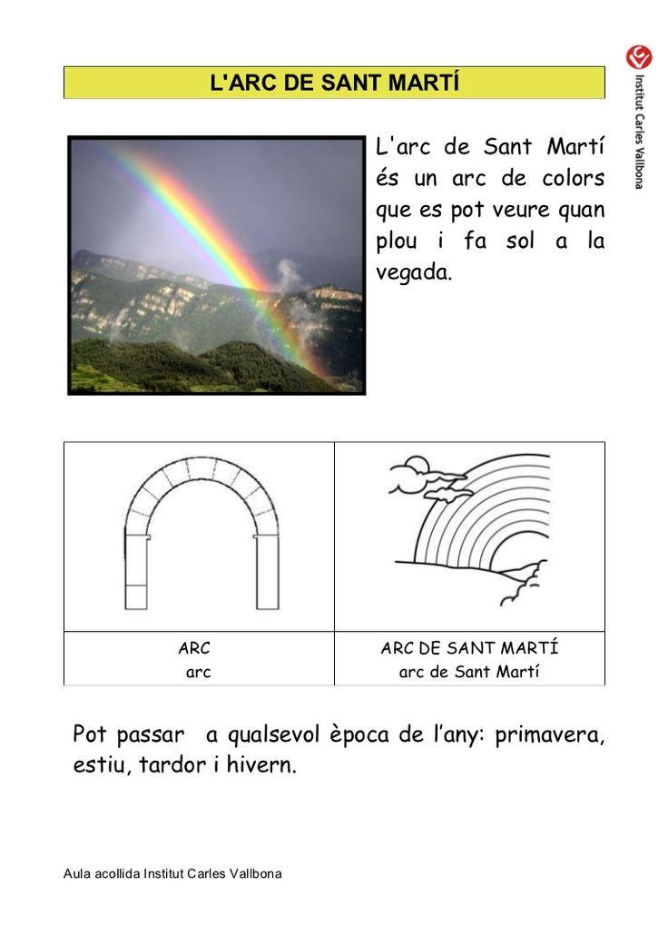 Larc De Sant Martí Larc De Sant Martí és Un Arc De Lectura Facil Marti Lectura