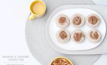 Banana Caramel Cream Pies Raw Dessert Recipe refined sugar free dairy free gluten free recipes healthy eating