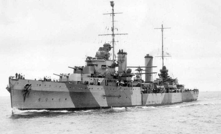 HMAS Sydney, Australian light cruiser, WW2
