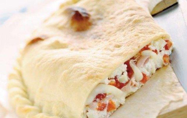 Σκεπαστή πίτα με τυριά και ζαμπόν - iCookGreek