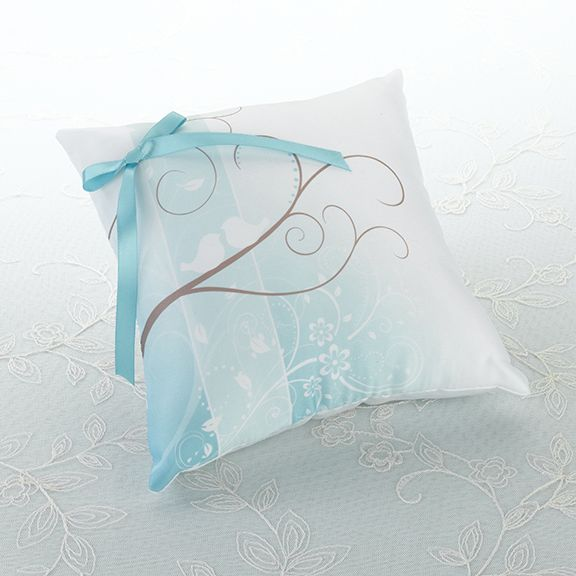Love Birds Ring Pillow £16.99 available to buy online from Wedding Paraphernalia