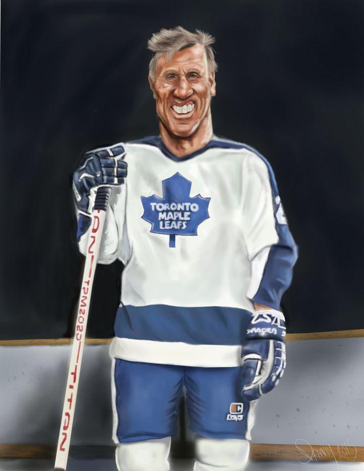 Börje Salming. Toronto Maple Leafs