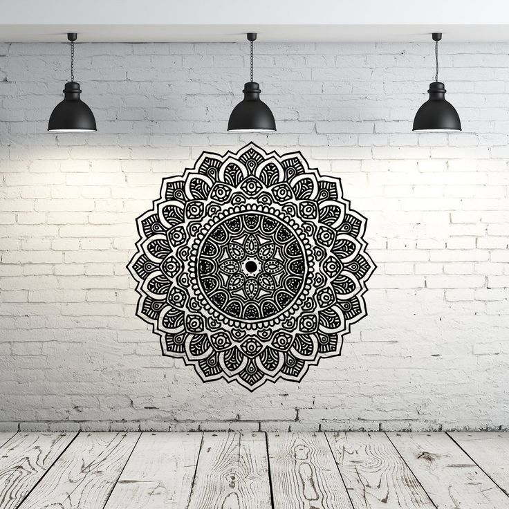Bohe Mandala Flower Wall Paper Decor Yoga Studio Vinyl: Best 25+ Moroccan Pattern Ideas On Pinterest