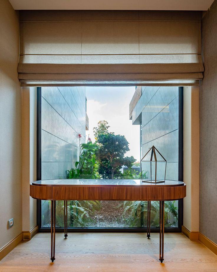 slasharchitects D House 09 #slasharchitects #interiordesign #furnituredesign #architecture #house #green #garden