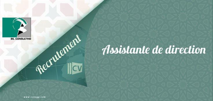 #Bil #Consulting: #Recrutement d'une #Assistante de #direction à #Rabat