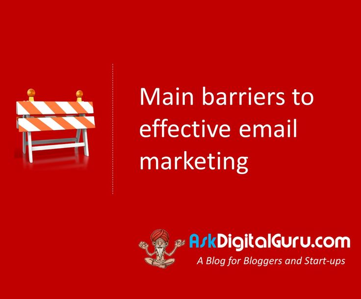 For you to be effective in email marketing, you need to understand main barriers to effective email marketing.Learn the tricks of the trade.