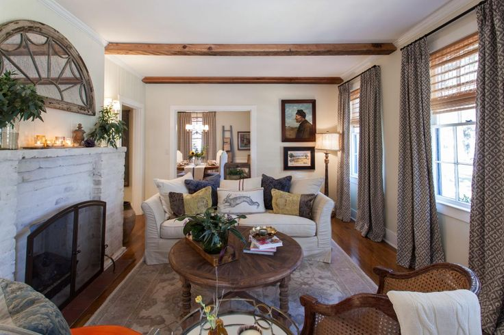 A Home Town Makeover: French Style, Southern Charm