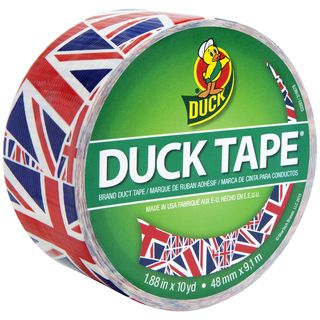 Union Jack Patterned Duck Tape.