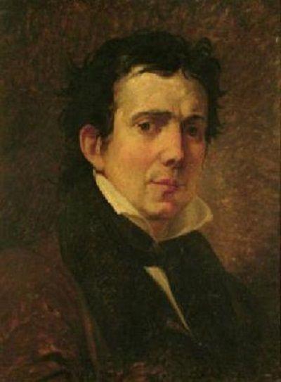 Francesco Hayez - Ritratto di Pompeo Marchesi (1830)