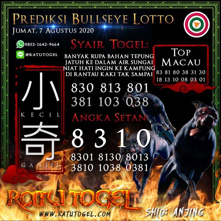 Bocoran Togel Bullseye Jumat 07 Agustus 2020 Sydney November Tikus Besar