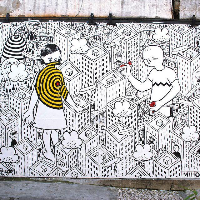 #streetart #portugal #lisbon #lxfactory #Millo