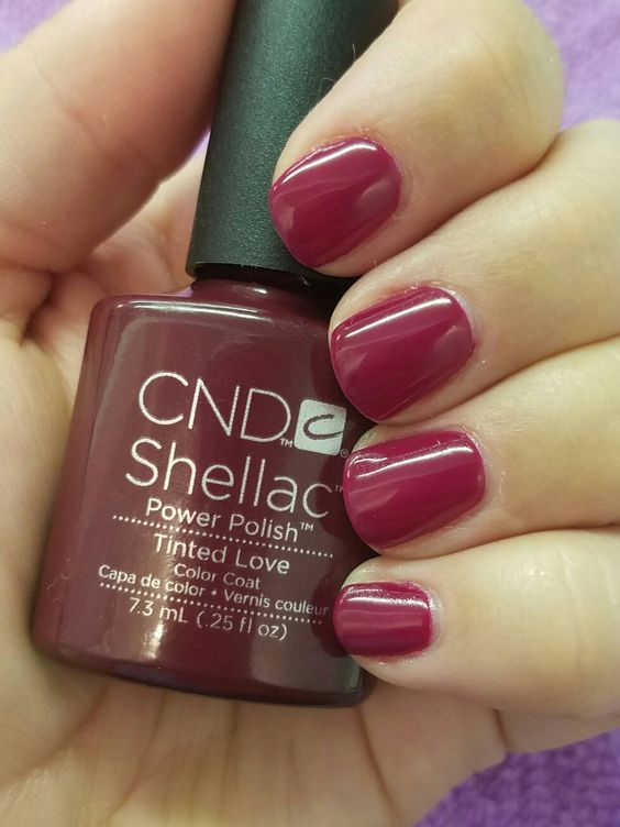 CND Shellac Tinted Love: