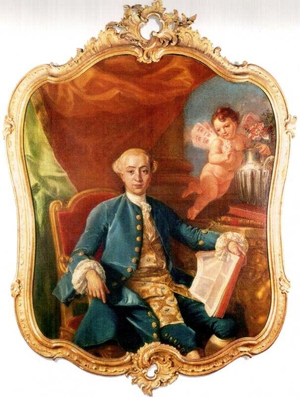 Anton Raphael Mengs ? Ritratto giovanile di Giacomo Casanova | Toile  imprimée, Les arts, Huile sur toile