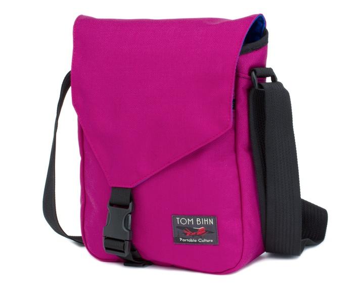 Small Cafe Bag - Small vertical messenger bag for everyday essentials - TOM BIHN