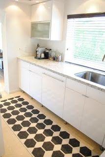 jandjhome: Our Kitchenrug from Brita Sweden. Anna rug