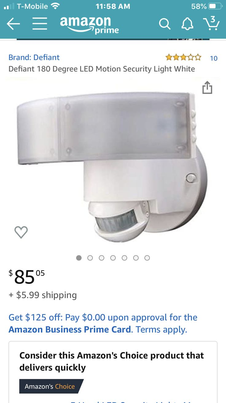 defiant security light on pin by ann marie on product info security lights 10 things amazon business prime pinterest