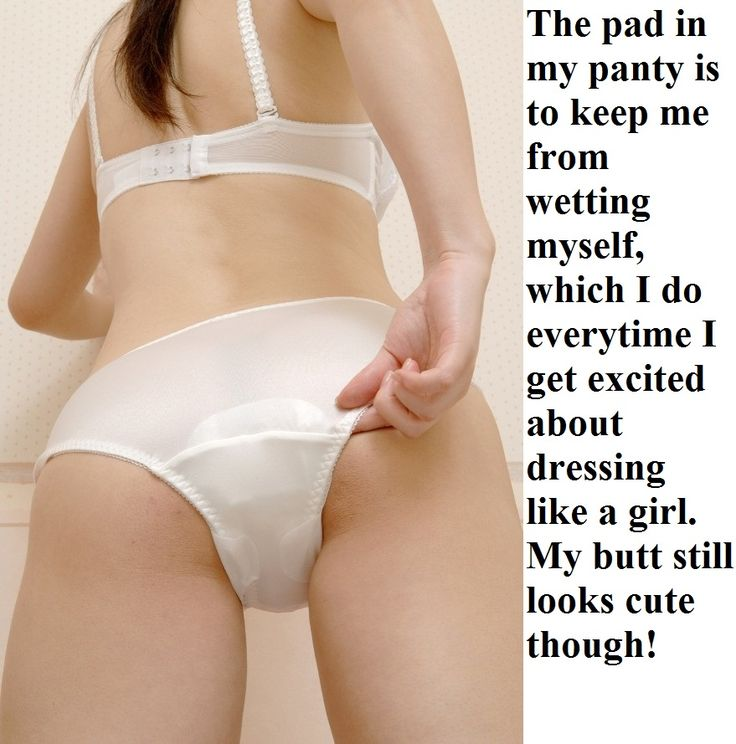 Transvestite menstrual pad odor accept. opinion