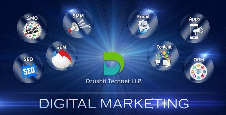 Drushti Technet LLP. - Digital Marketing Services. www.dinpl.com
