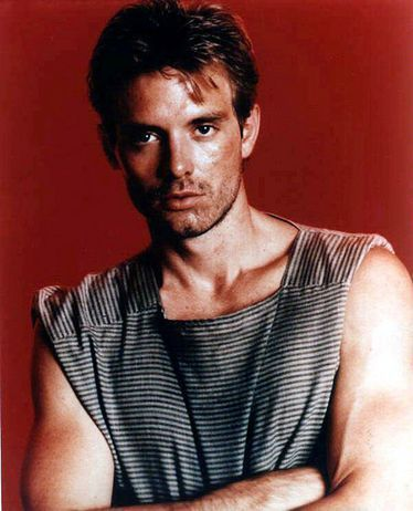 Michael Biehn as Kyle Reese in The Terminator. One of my childhood crushes. Also liked him in Aliens.