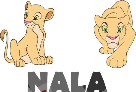 Nala lion king character