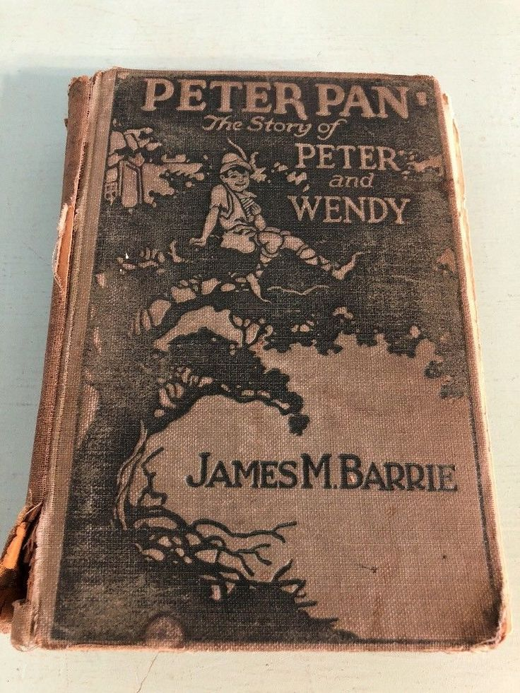 Vintage Peter Pan The Story of Peter and Wendy James M Barrie 1911 ?    eBay
