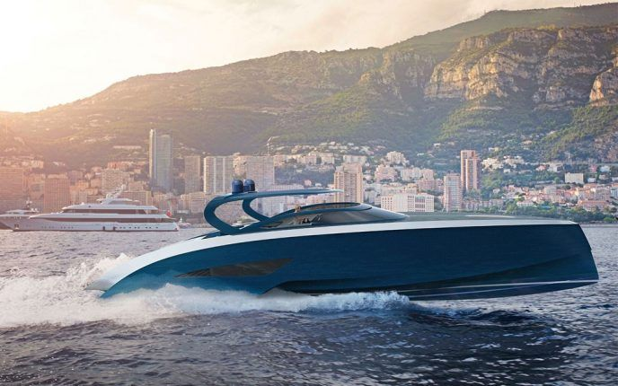 """Nella categoria delle imbarcazioni dei luxury yacht si affaccia Bugatti con una superlussuosa imbarcazione dal nome di """"Niniette 66""""."""