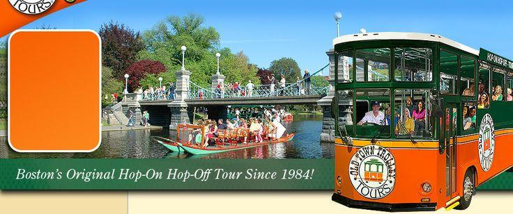 Boston Tours | Boston Trolley | Old Town Trolley Tours®