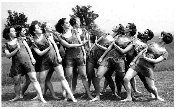 1930 American Dance Festival.    Give me 5,10,15....