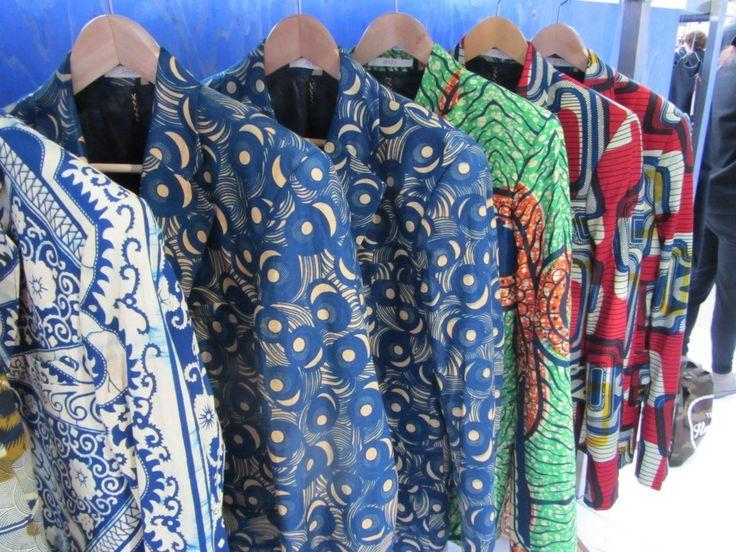 Traditional African Prints Blend With European Design #Afriek #Africanprints #designs