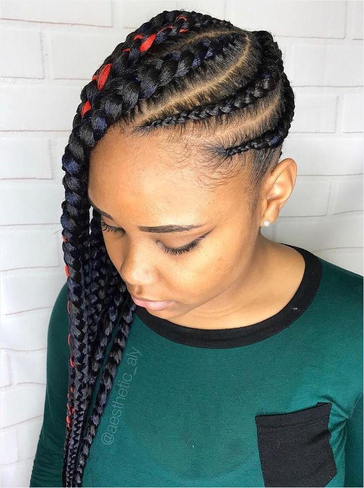 64 Fancy Side Braid Hairstyles for Black Hair Va13064 ...