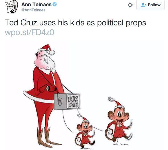 Ted Cruz Monkey Toon