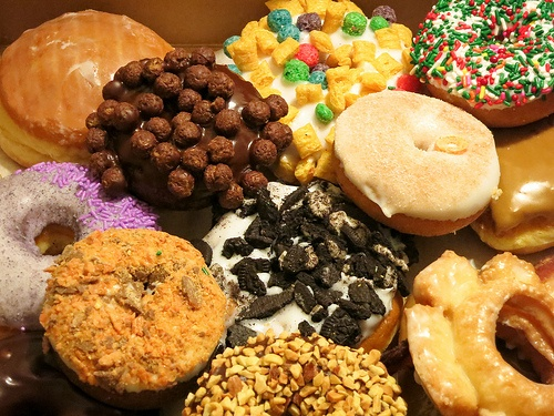 Donuts (Voodoo Donuts in Portland, OR)!