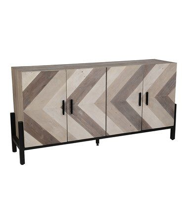 Love this Alondra Pine Sideboard on #zulily! #zulilyfinds
