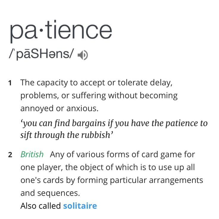 "It's fun to learn new facts, thoughts and ideas through a word for a whole year. I had no idea ""patience"" was a card game in England."