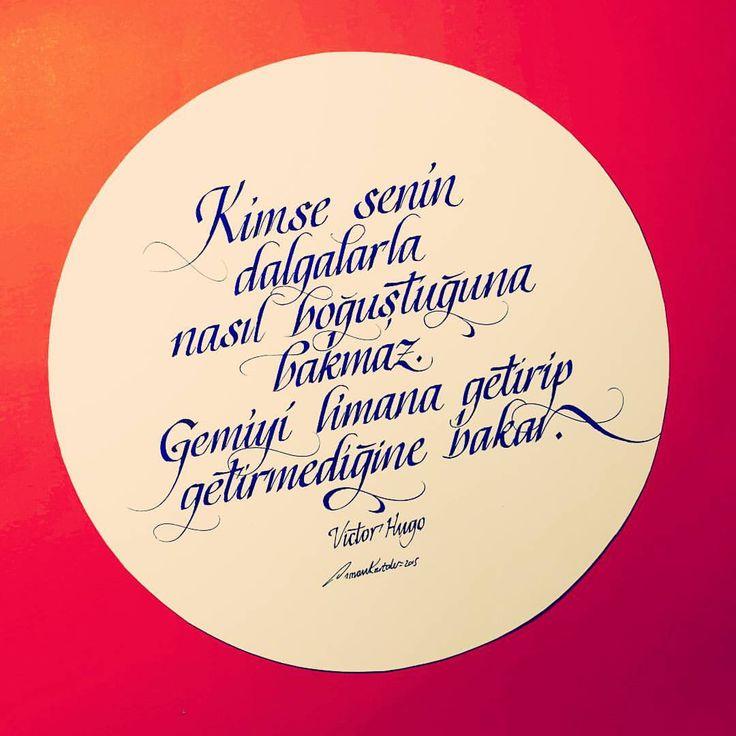 #victorhugo#guzelsoz#guzelsozler#edebiyat#kitap#kafkaokur#cemalsureya#nazimhikmet#red#kirmizi#ink#world#sea#gemi#marina#turkey#istanbul#grapgic#graphicdesign#tattoo#art#sanat#design#pen#pencil#kaligrafi#calligraphy#typography#resim#hat#ask (Istanbul, Turkey)