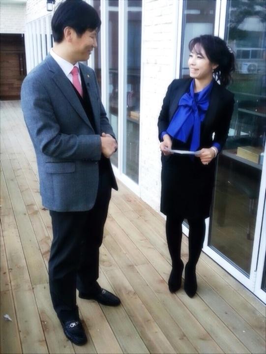 파워인터뷰 2012.12.04 거창맷돌순두부 대표님과