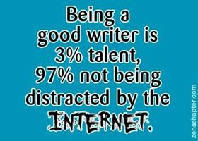 Photo: How to be a good writer... he he!